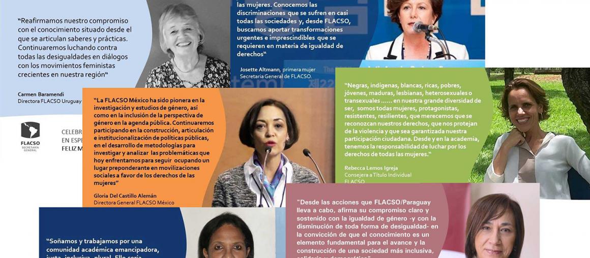 Expresiones de Mujeres Lideres - Celebraciones por el Día Internacional de la Mujer