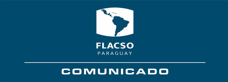 COMUNICADO DE FLACSO PARAGUAY 11-03-2020