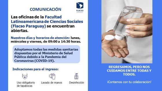 APERTURA DE OFICINAS - FLACSO PARAGUAY